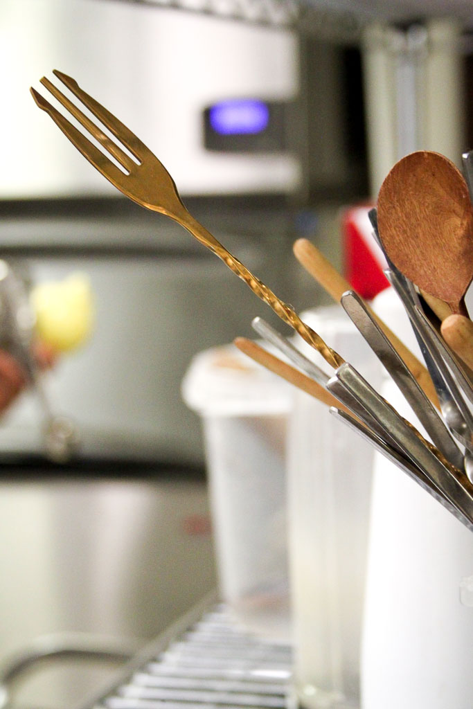 Utensils in the kitchen (Eat Me. Drink Me.)