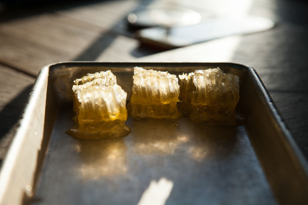Honeycomb (photo courtesy of alma cocina latina)
