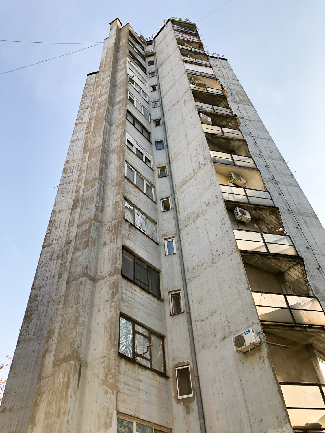 Tower building, Belgrade (Eat Me. Drink Me.)