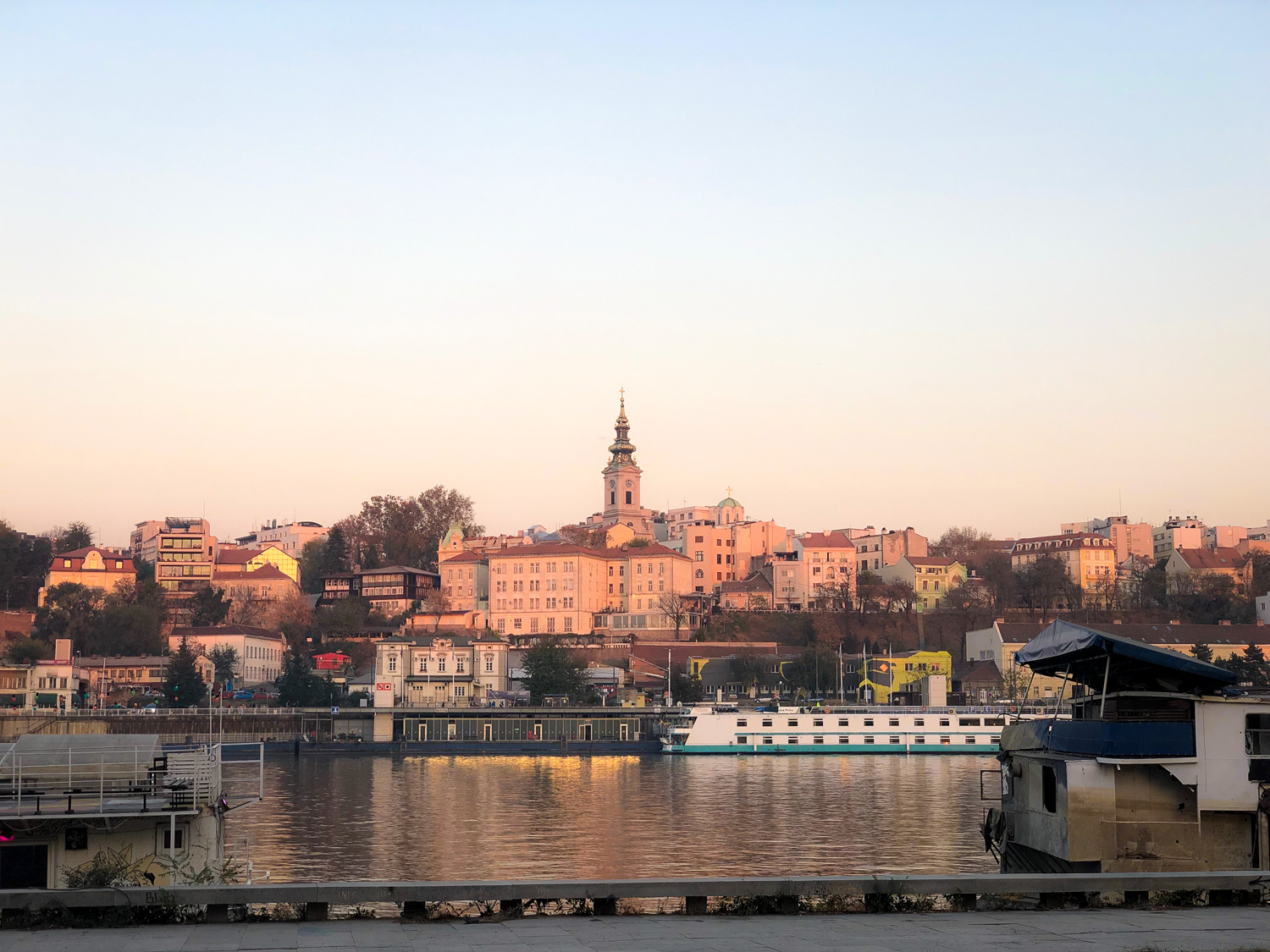 Waterfront view of old Belgrade (Eat Me. Drink Me.)