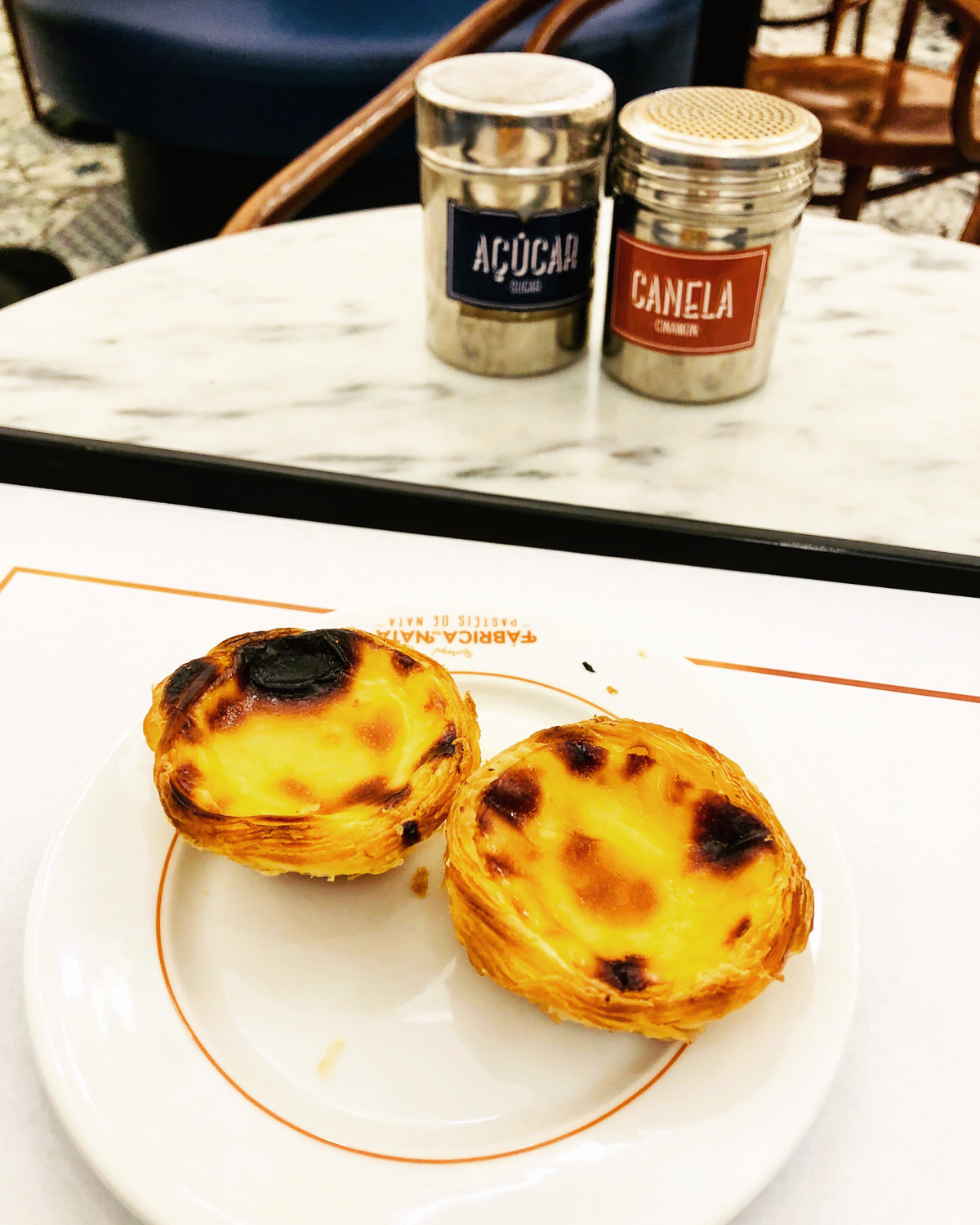 Pastel de Nata from Fabrica (Eat Me. Drink Me.)