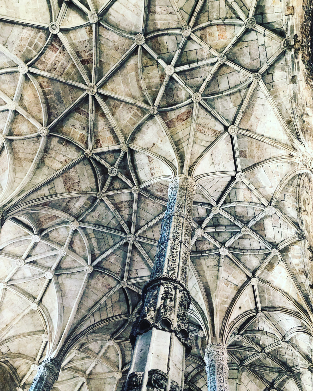 The roof of the San Jeronimos Monastery, Lisbon (Eat Me. Drink Me.)