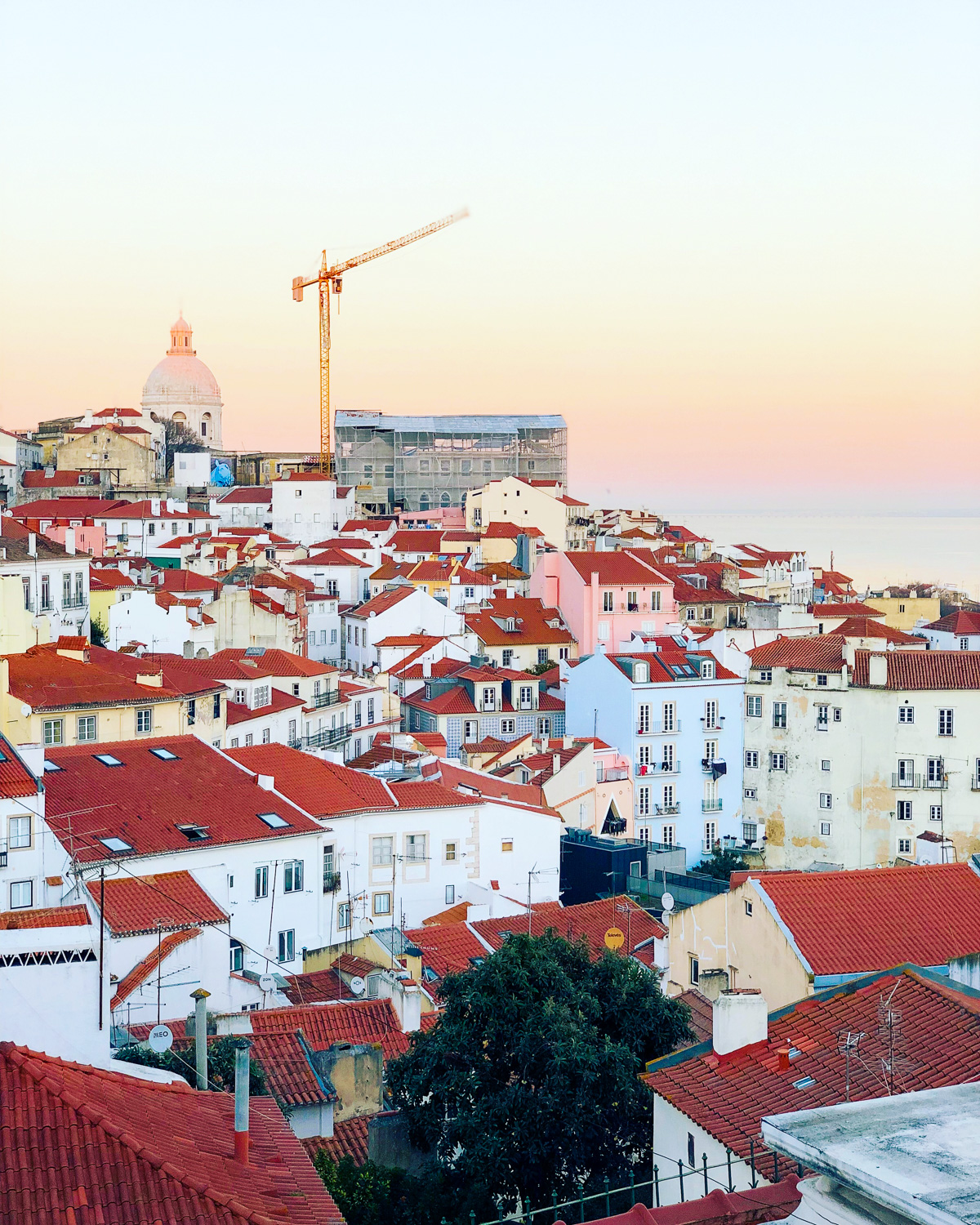 Lisbon at sunset (Eat Me. Drink Me.)