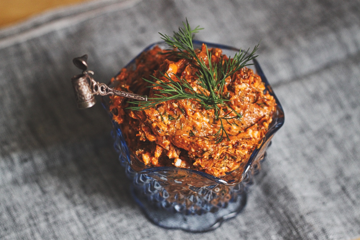 Sun-dried tomato butter (Eat Me. Drink Me.)